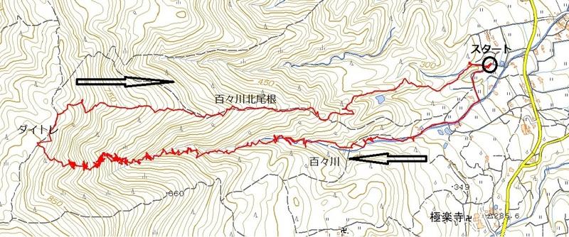 2019-04-13 百々川登りその北尾根下る。.jpg