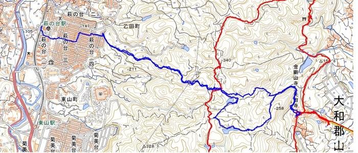 20210427 萩の台〜矢田寺ピストン 青線.jpg